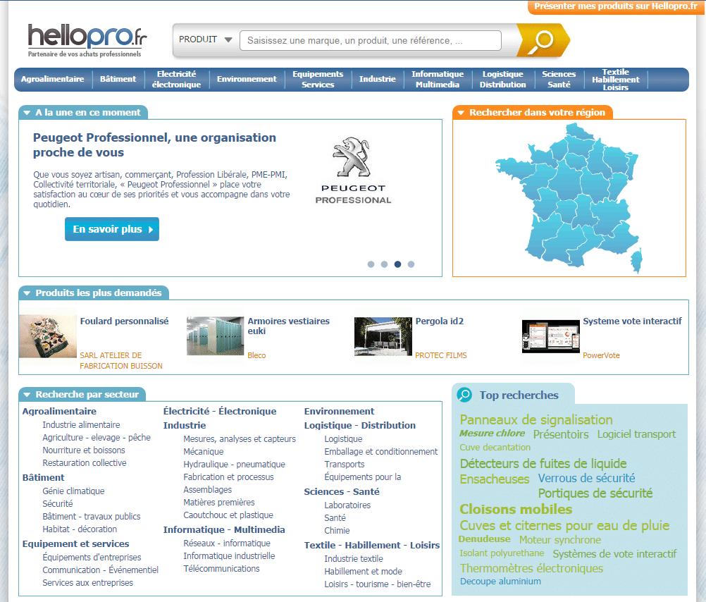 vendre sur hellopro.fr