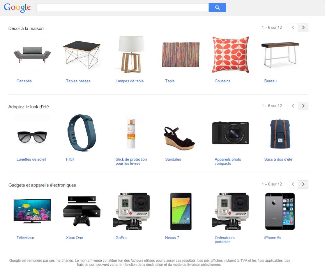 vendre sur GoogleShopping