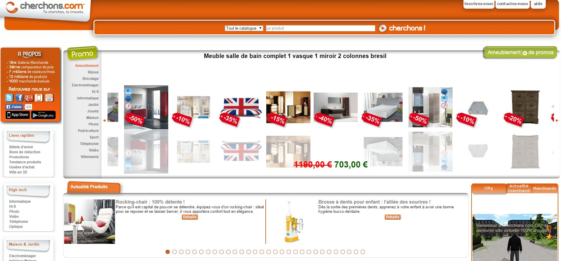 vendre sur cherchons.com