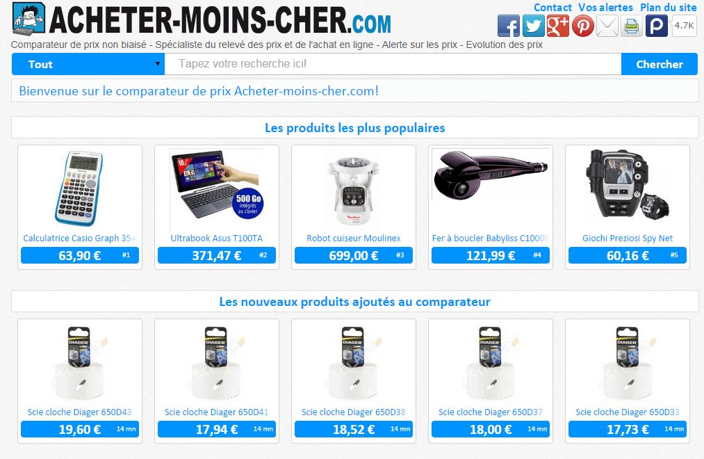 Exporter ses produits avec iziflux et vendre sur acheter moins - Le site de vente le moins cher ...