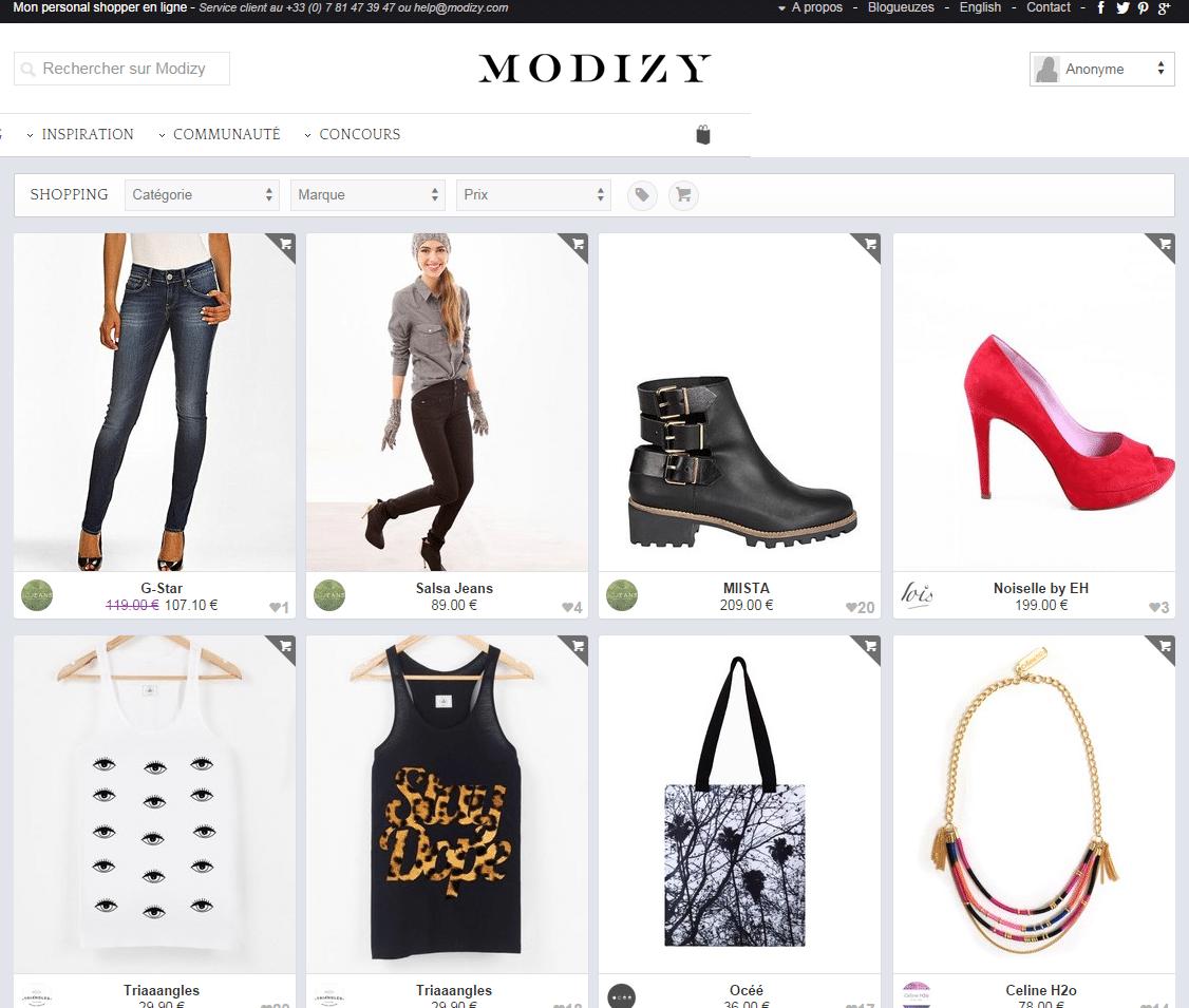 vendre sur modizy