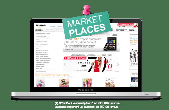 Iziflux est votre meilleur allié pour vendre sur les places de marché !