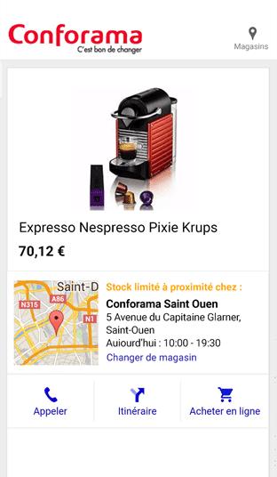generation flux google shopping
