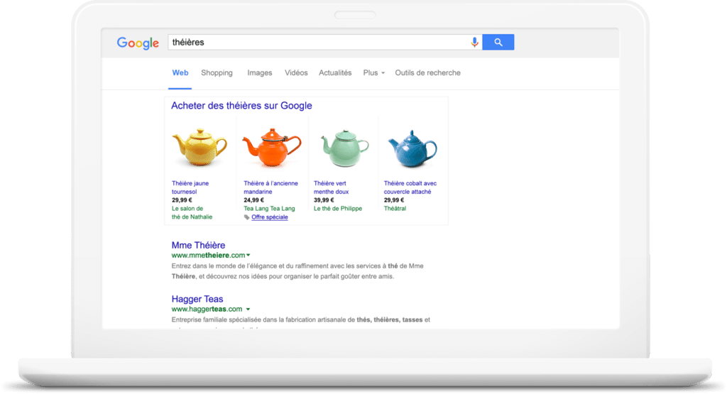 optimisation flux google shopping