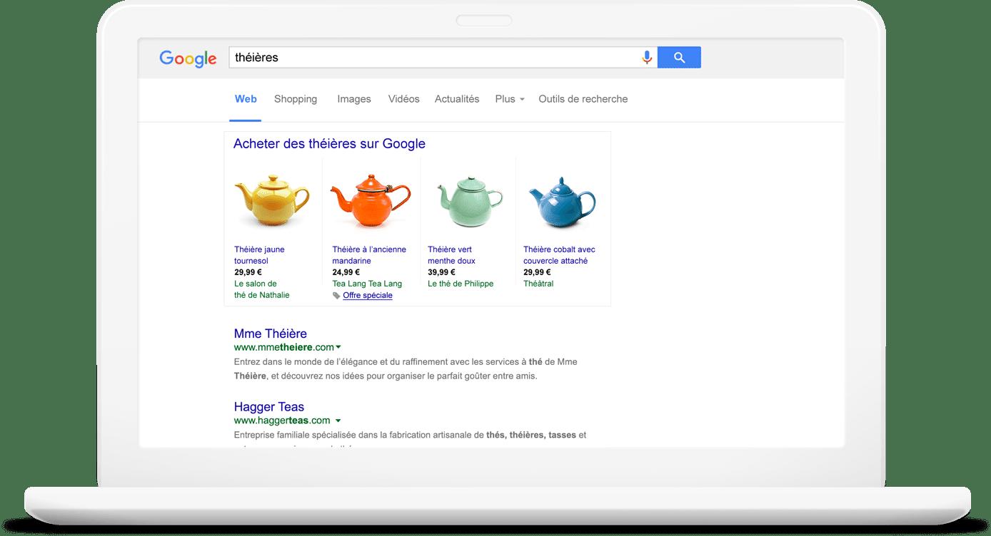 optimisation flux google shopping