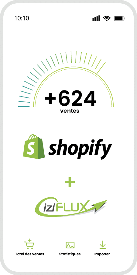 smartphone shopify iziflux